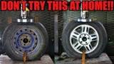 Які диски міцніше - сталеві або литі: Відео-експеримент