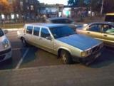 У Дніпрі зняли дуже рідкісний лімузин Volvo 80-х років